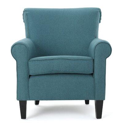 Chauncey Arm Chair Upholstery: Dark Teal