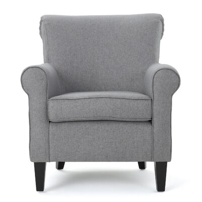 Chauncey Arm Chair Upholstery: Gray