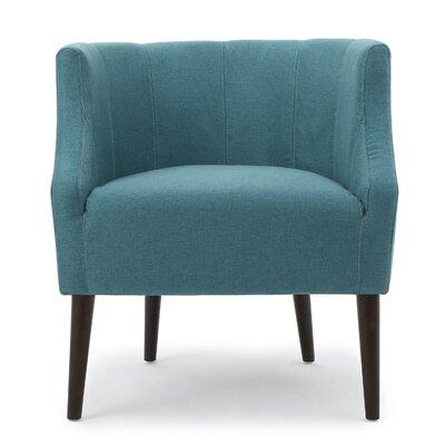 Daryl Barrel Chair Upholstery: Dark Teal