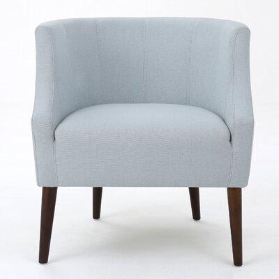 Crosby Barrel Chair Upholstery: Light Sky