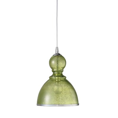 Hawthorn Pendant Shade Color: Celadon, Size: Large
