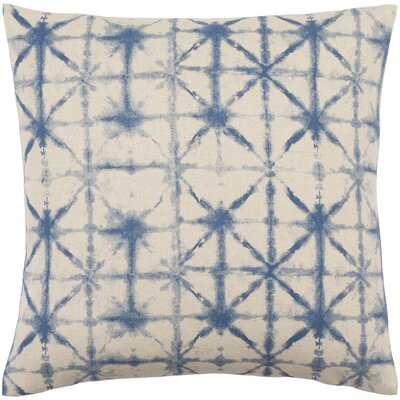 Lida Nebula Pillow Cover Size: 20 H x 20 W x 1 D, Color: OrangeNeutral