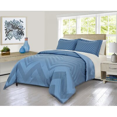 Sextans Ombre Comforter Set Size: King