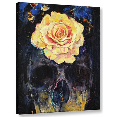 Forgotten Painting Print on Wrapped Canvas