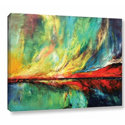 Aurora Painting Print on Wrapped Canvas