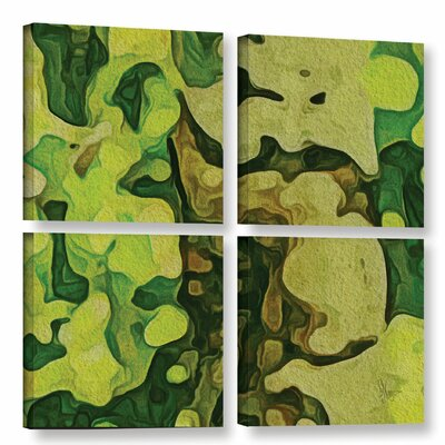 Rio Grande 4 Piece Graphic Art on Wrapped Canvas Set