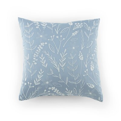 Ellington Circle Leaf Throw Pillow