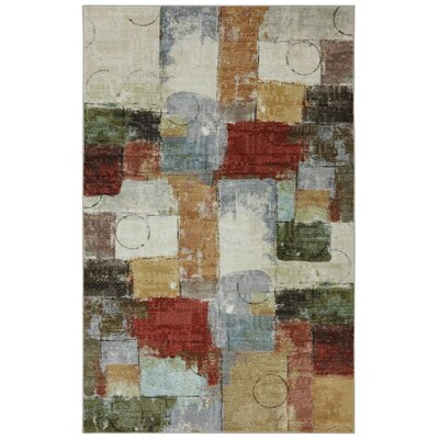 Pemberton Heights Quilt Green/Red Area Rug Rug Size: Rectangle 5 x 8