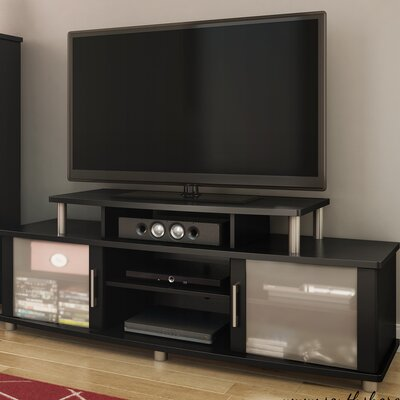 City Life 59 TV Stand Finish: Pure Black