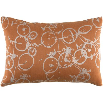 Camptown Lumbar Pillow Color: Orange/Neutral