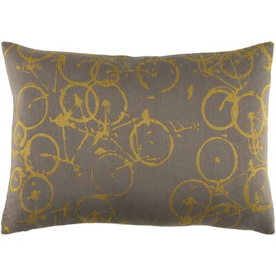 Camptown Lumbar Pillow Color: Yellow/Gray