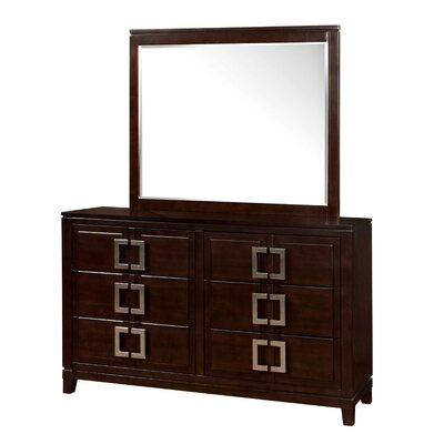 Elsin 6 Drawer Dresser