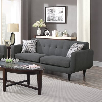 Casady Sofa Upholstery: Charcoal