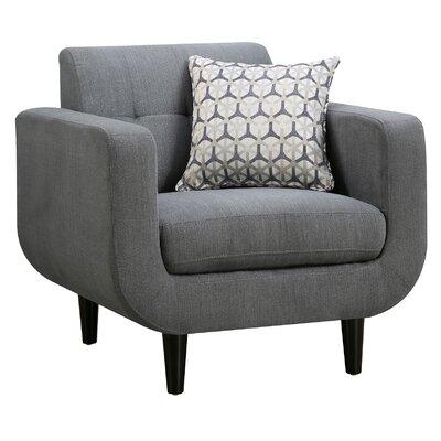 Tucanae Armchair Color: Gray