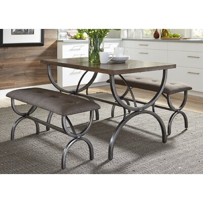 Typhon 3 Piece Dining Set