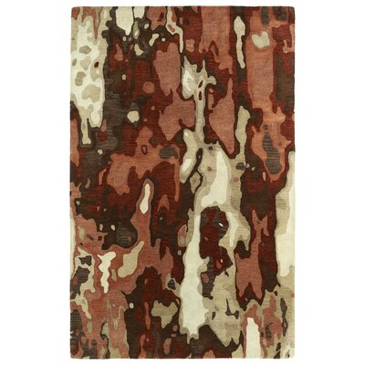 Virginis Red Area Rug Rug Size: Rectangle 9'6