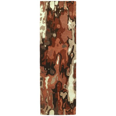 Virginis Red Area Rug Rug Size: Runner 26 x 8