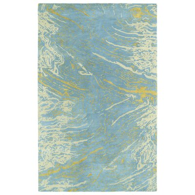 Virginis Blue Area Rug Rug Size: Rectangle 5 x 79