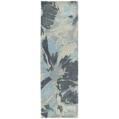 Virginis Grey Area Rug Rug Size: Runner 26 x 8