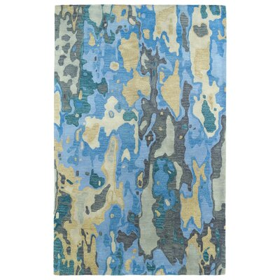 Virginis Blue Area Rug Rug Size: Rectangle 2 x 3