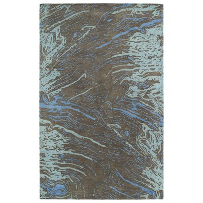 Virginis Chocolate Area Rug Rug Size: 8 x 11