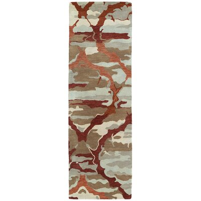 Virginis Area Rug Rug Size: Runner 26 x 8
