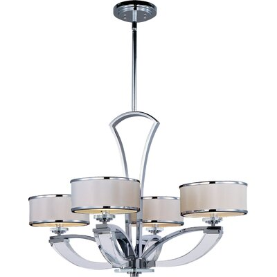 Volans 4-Light Drum Chandelier