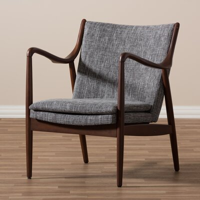 Waugh Armchair Color: Grey
