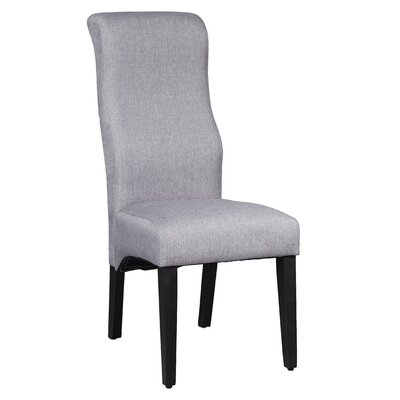 Euclid Side Chair Upholstery: Gray