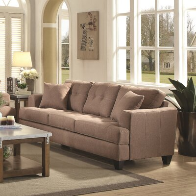 Sorento Sofa Upholstery: Light Mocha