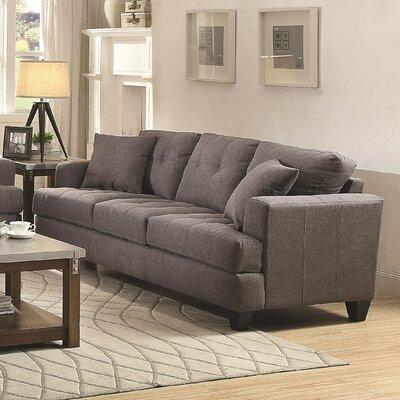 Sorento Sofa Upholstery: Charcoal