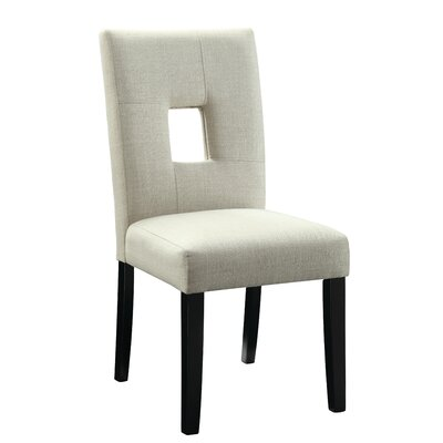 Mikah Side Chair Upholstery: Beige