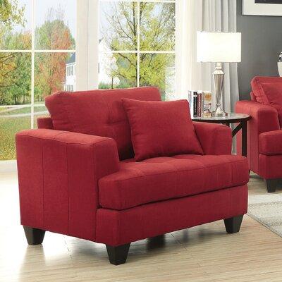 Zech Arm Chair Upholstery: Cappuccino