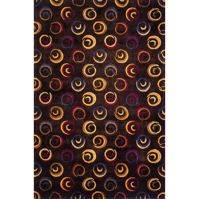 Eddie Charcoal Rug Rug Size: Rectangle 96 x 136