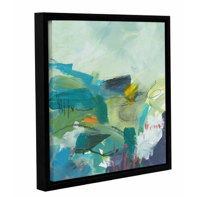 'No Boundaries' by Jan Weiss Framed Painting Print Size: 10