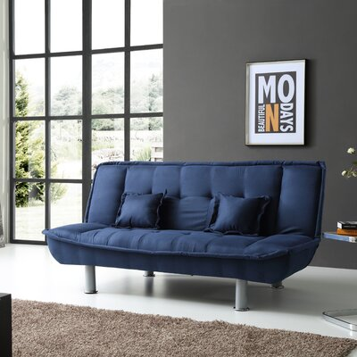 Hertford Convertible Sofa Upholstery: Blue