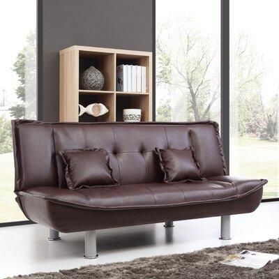 Hertford Convertible Sofa Upholstery: Cappuccino