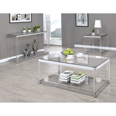 Benter 3 Piece Coffee Table Set
