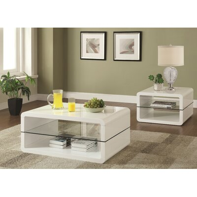Albano 2 Piece Coffee Table Set