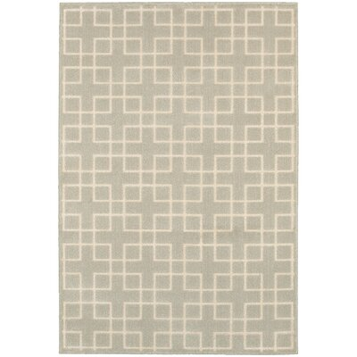 Albrecht Ivory Area Rug Rug Size: Rectangle 53 x 76