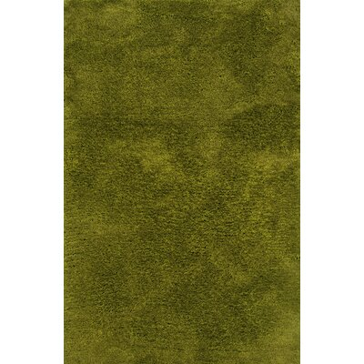 Albritton Hand-made Green Area Rug Rug Size: Rectangle 66 x 96