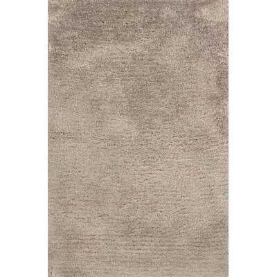 Albritton Hand-made Beige Area Rug Rug Size: Rectangle 66 x 96