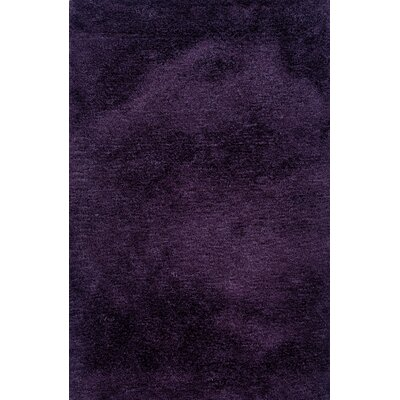Albritton Handmade Purple Area Rug Rug Size: 66 x 96