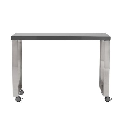 Huenna 28 H x 40 W Desk Return Finish: High Gloss Gray