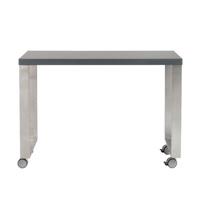 Huenna 28 H x 40 W Desk Return Finish: Matte Gray
