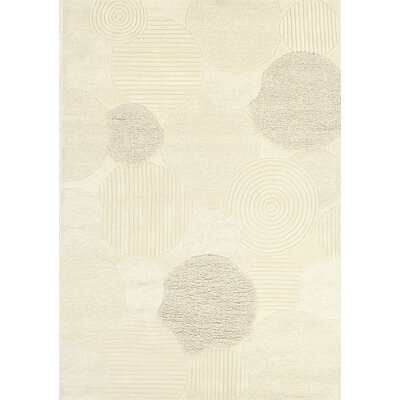 Alessandro Hand-Woven Natural Area Rug Rug Size: Rectangle 56 x 8