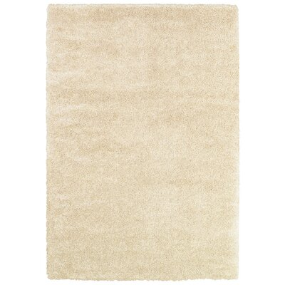 Cairns Snow Area Rug Rug Size: 53 x 76