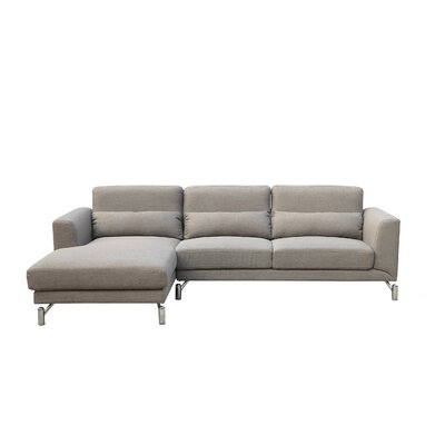 Padang Sidempuan Sectional Orientation: Left Hand Facing, Upholstery: Taupe