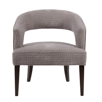 Daphne Barrel Chair Upholstery: Gray