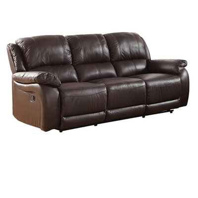 Latitude Run LATT1510 Juan Leather Reclining Sofa Upholstery